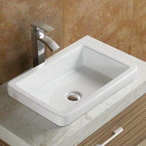 raised bathroom sinks modern bathroom sinks allmodern 14066