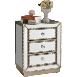 Lester 3 Drawer Lingerie Chest