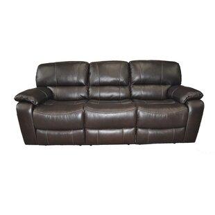 Pillow Top Arm Leather Sofas You Ll Love Wayfair