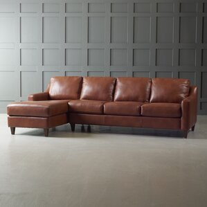 Jesper Leather Sectional