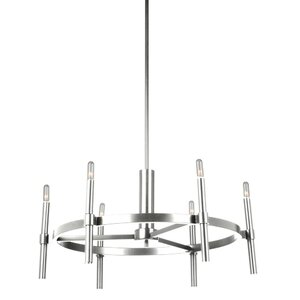 Bushong 6-Light Candle-Style Chandelier