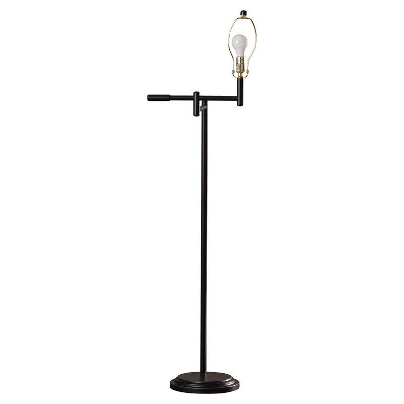 Alcott hill bethesda 60 swing arm floor lamp reviews wayfair bethesda 60 swing arm floor lamp aloadofball Image collections