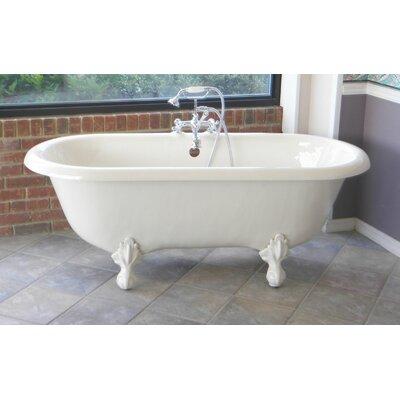 "Bathroom Fixtures Vernon alcott hill vernon clawfoot 70"" x 31"" soaking bathtub & reviews"