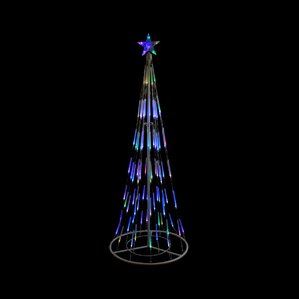 Outdoor Christmas Light Displays You'll Love Wayfair - Christmas Lights Christmas Tree