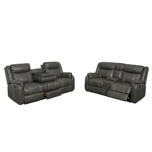Judlaph 2 Piece Reclining Living Room Set by Red Barrel Studio