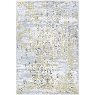 Jakes Gold Silver Area Rug