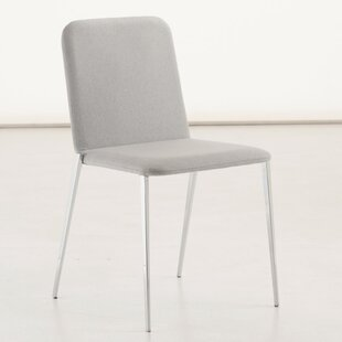 Aria Genuine Leather Upholstered Dining Chair
