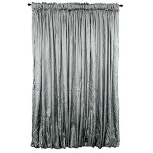Balloon Drapery Solid Semi-Sheer Single Curtain Panel