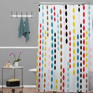 Banda Nolita Drops Shower Curtain