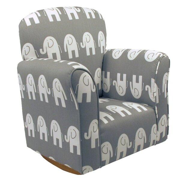 Rocking Plush Toddler Chair | Wayfair