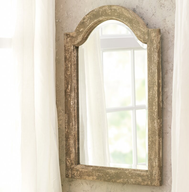 Arch Wall Mirror lark manor auxerre wall mirror & reviews | wayfair