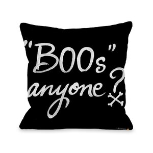Halloween Boos Anyone Throw Pillow