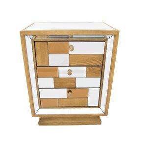 Nachttisch mit 3 Schubladen von EcoFurn