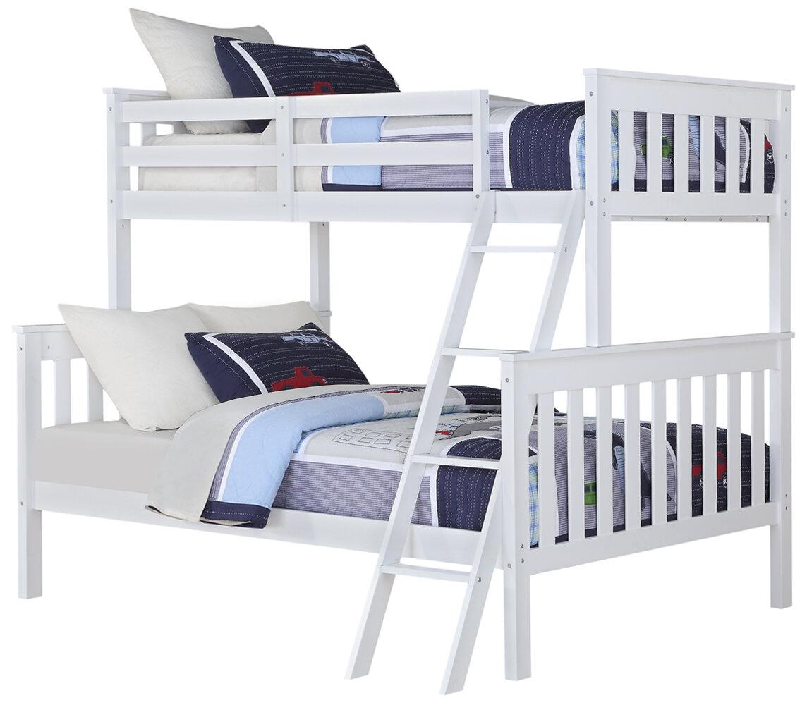 Viv + Rae Rowley Twin Over Full Bunk Bed & Reviews | Wayfair