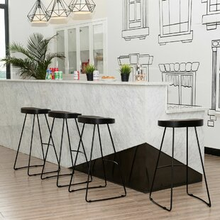 Bricker Industrial Vintage 30.5 Bar Stool (Set of 4)
