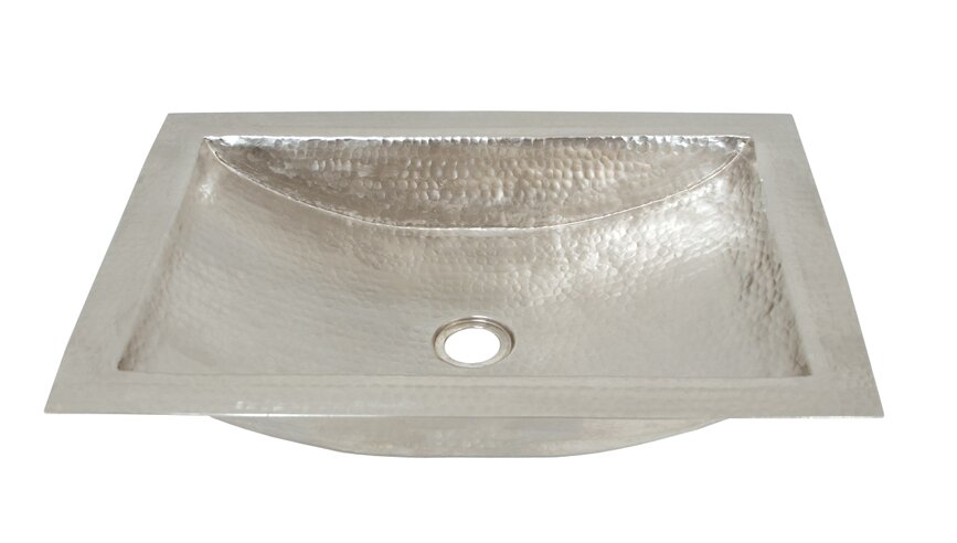 ... Hammered Silver Bathroom Sink Lovely Nantucket Sinks Hand Hammered  Stainless Steel Oval Undermount ...