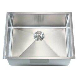"""Undermount Kitchen Single Sink emodern decor ariel 26"""" x 20"""" single bowl undermount kitchen sink"""