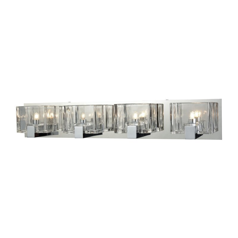 Mercer41 tegan 4 light bath bar reviews wayfair tegan 4 light bath bar aloadofball Images