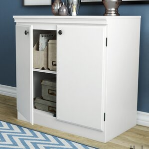wood office storage cabinets you'll love | wayfair