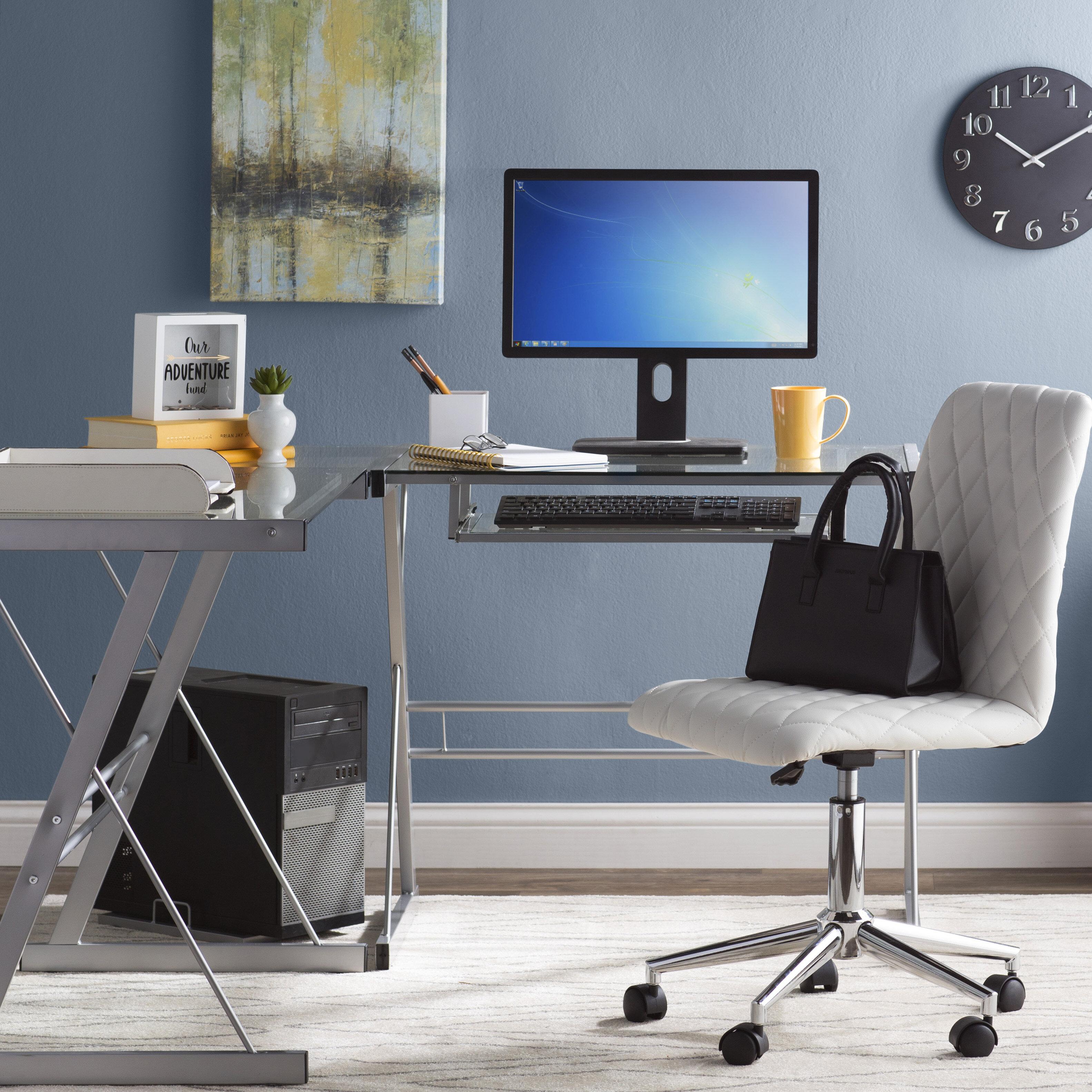 Wrought Studio L Shape Computer Desk U0026 Reviews | Wayfair