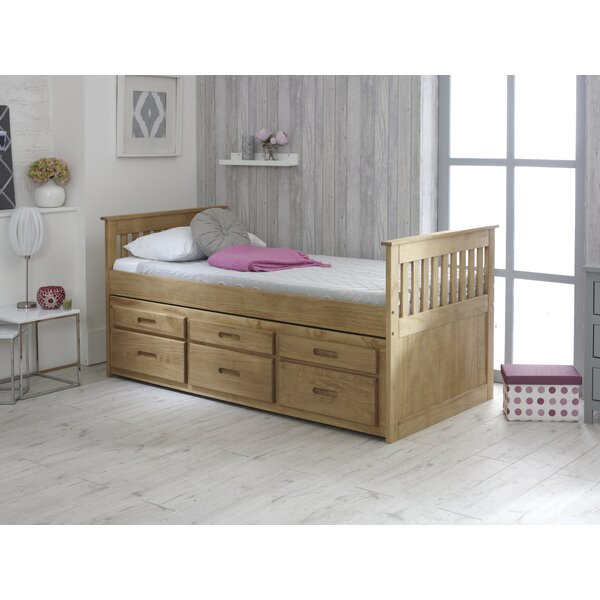 Just Kids Captains Single Cabin Bed With Trundle And