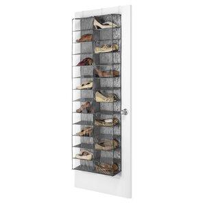 26 Compartment Overdoor Shoe Organizer