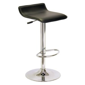 Adjustable Height Swivel Bar Stool by Lux..