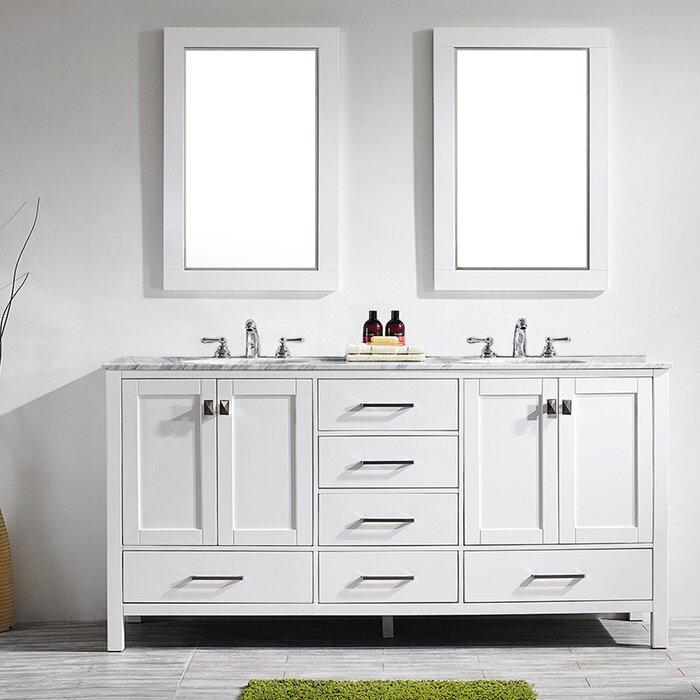 Miraculous Newtown 72 Double Bathroom Vanity Set With Mirror Download Free Architecture Designs Scobabritishbridgeorg