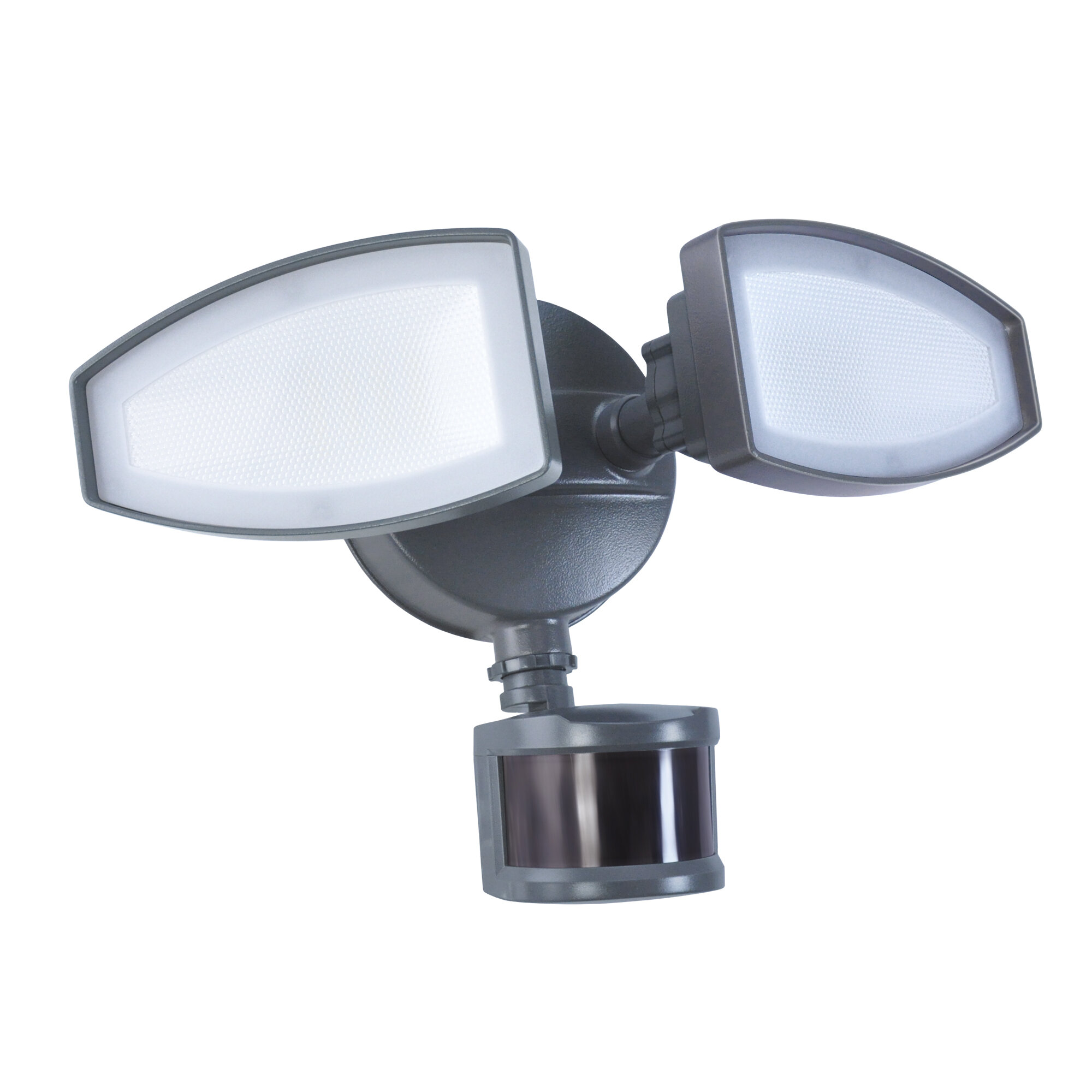 Two Head Switch Control Security 8 Light Led Flood Light