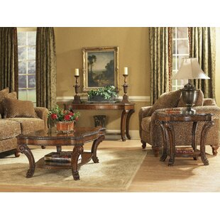 Brussels 3 Piece Coffee Table Set