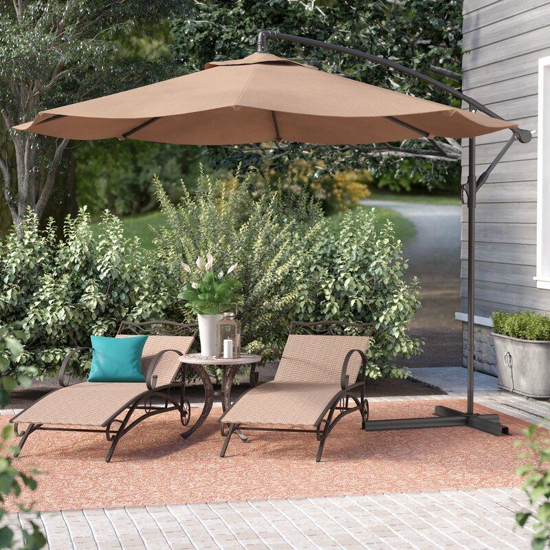 bormann 10 cantilever umbrella - Patio Umbrella
