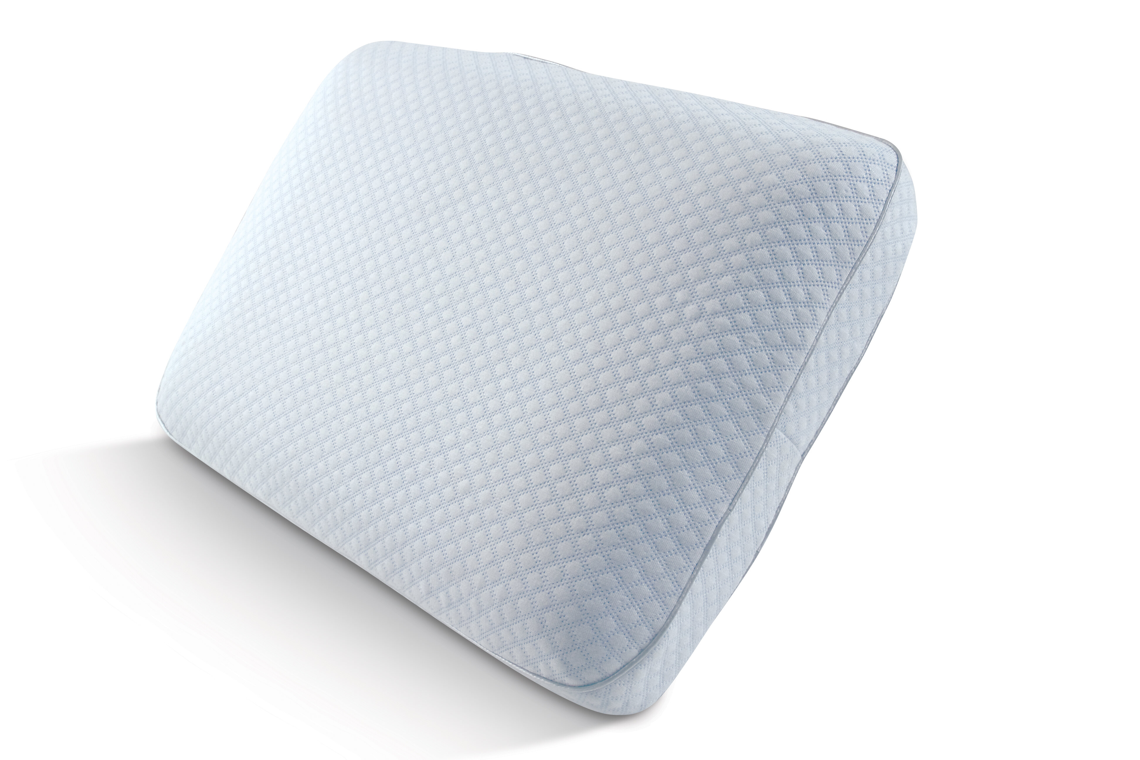 ee5945e10c90 Pure Rest Big and Soft Cooling Gel Ventilated Memory Foam Pillow ...