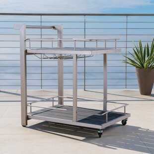 Thurso Outdoor Aluminum Bar Cart
