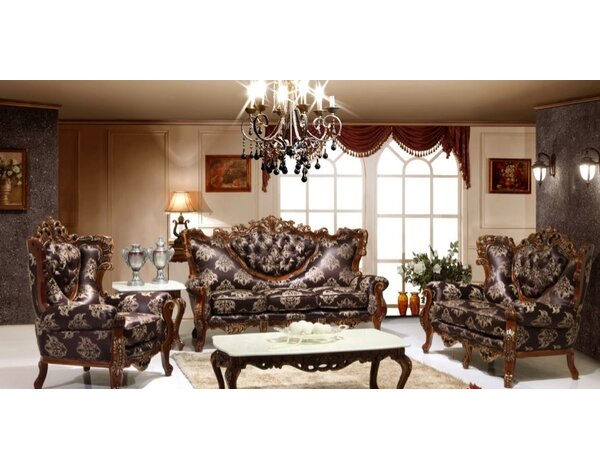 Joseph Louis Home Furnishings 3 Piece Living Room Set & Reviews ...
