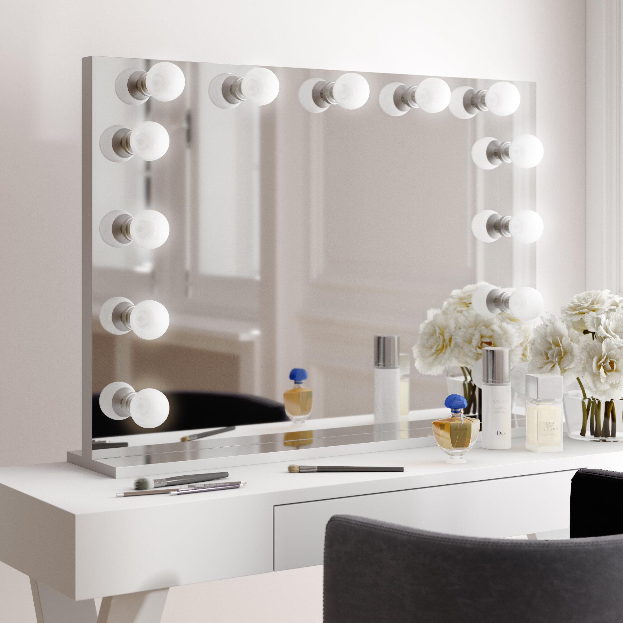 Broadway Lighted Mirror Wayfair