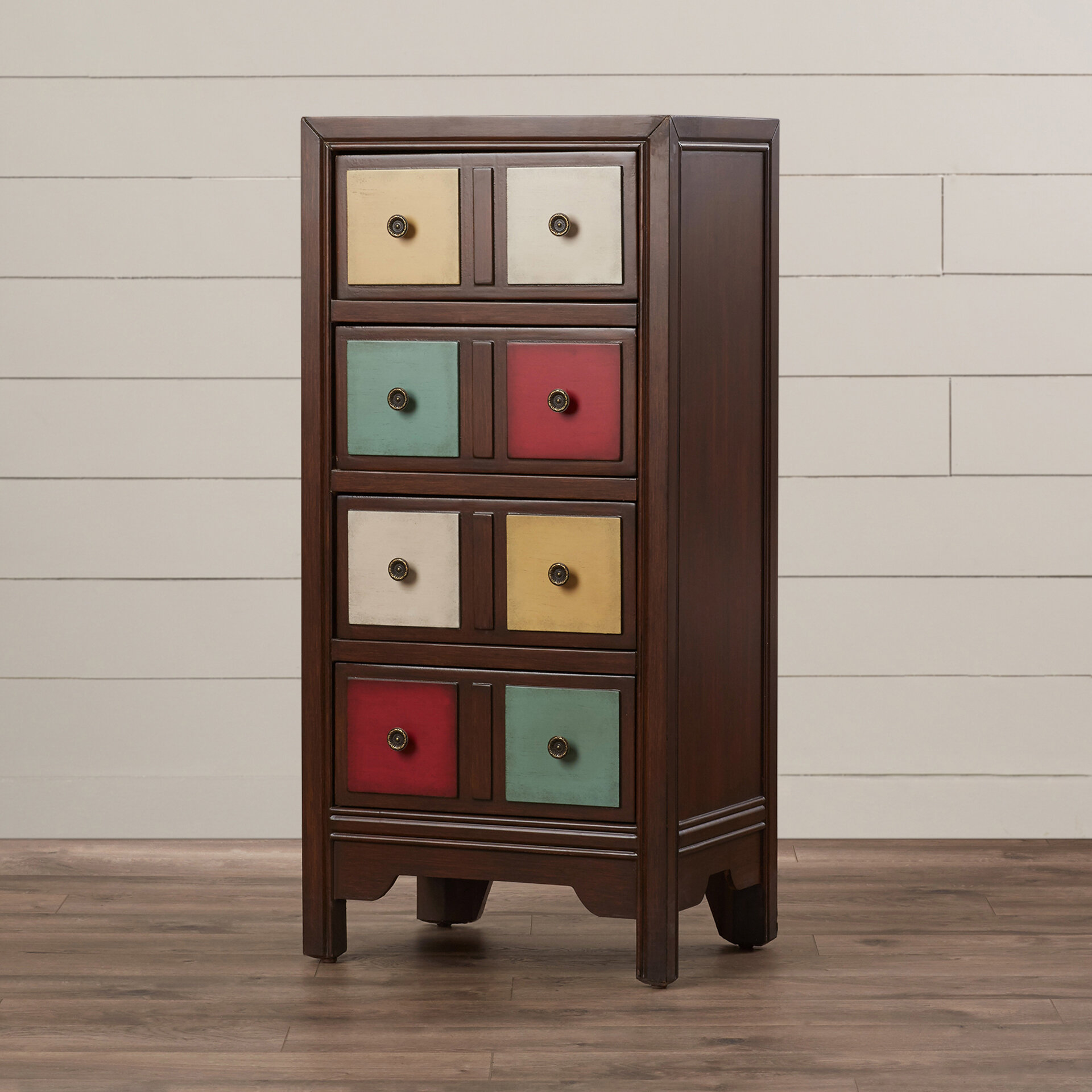 Bungalow Rose Stonington 4 Drawer Accent Chest Reviews Wayfair