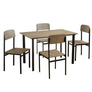 Diamondville 5 Piece Dining Set by Laurel..