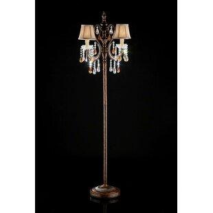 Candelabra base floor lamps youll love wayfair 6425 candelabra floor lamp aloadofball Gallery