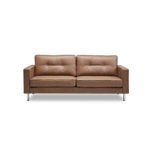 Lianne Modern Solid Print Sofa by Orren Ellis