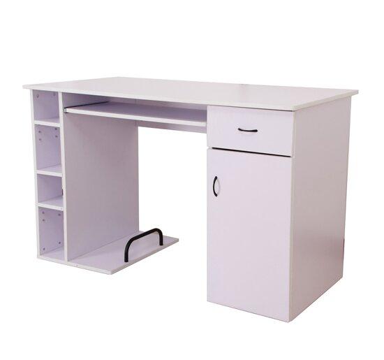 hazelwood home computertisch mit tastaturauszug bewertungen. Black Bedroom Furniture Sets. Home Design Ideas