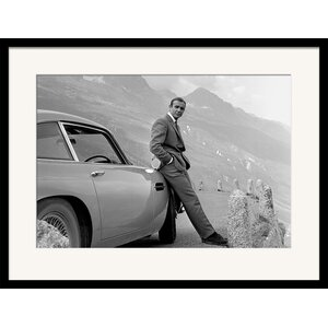 'James Bond' by Aston Martin Framed Photographic Print