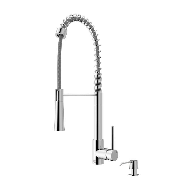 VIGO Laurelton Pull Down Single Handle Kitchen Faucet & Reviews ...