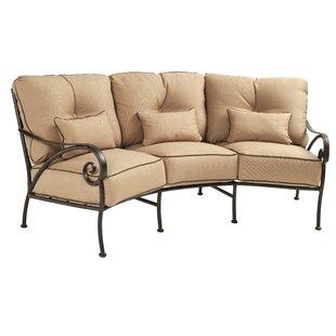 Finest Crescent Shaped Outdoor Sofa | Wayfair FW34