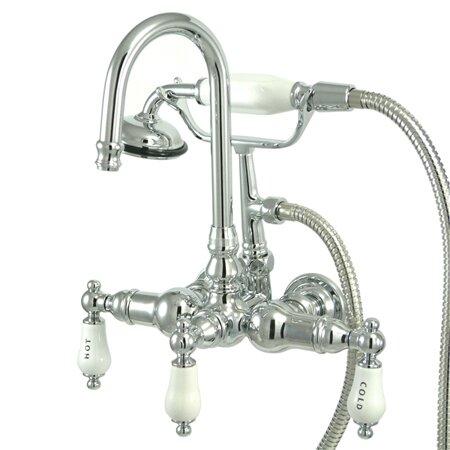 Kingston Brass Vintage Clawfoot Tub Faucet Reviews Wayfair