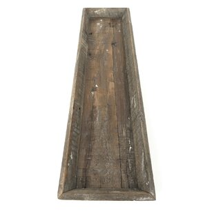 Au Old Wood Long Accent Tray