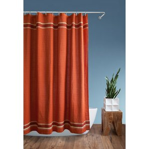 brown and orange shower curtain. Rio Grande Shower Curtain Orange Curtains You ll Love  Wayfair