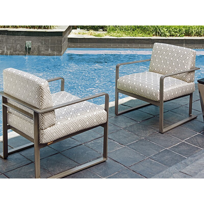 Del Mar Patio Chair With Cushion