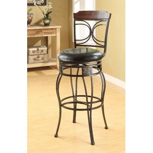 Kevan 29 Swivel Bar Stool (Set of 2)