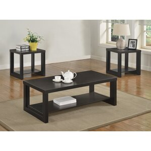 Charming Audra 3 Piece Coffee Table Set