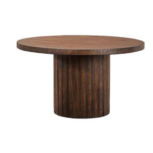 Kristopher Barrel Base Dining Table Wonderful